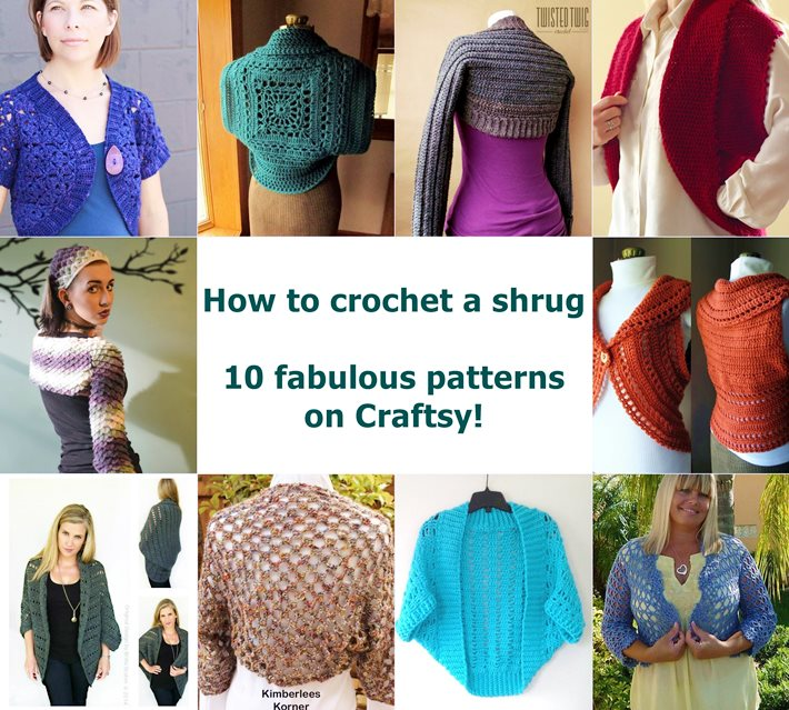 How to crochet a shrug 10 fabulous patterns featured
