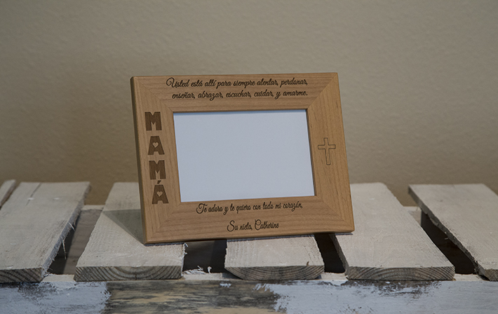 product photography frame - lighting example 1