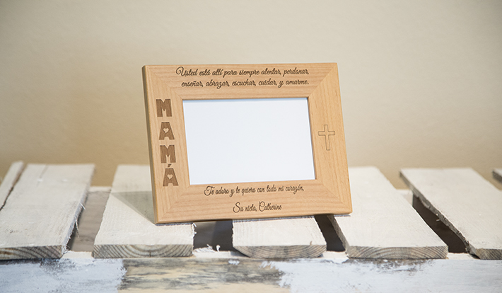 product photography frame - lighting example 2