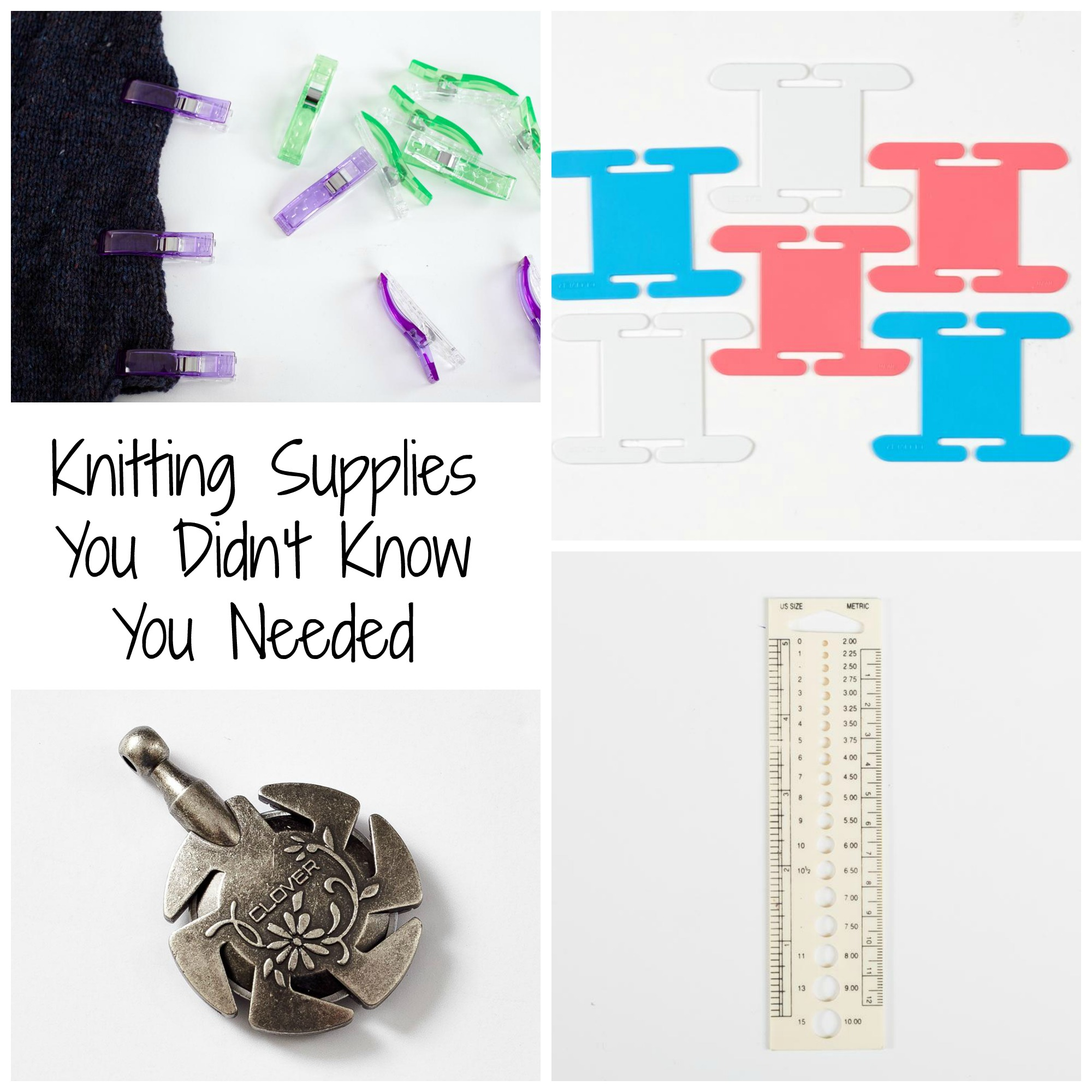 Knitting Supplies You Didn't Know You Needed