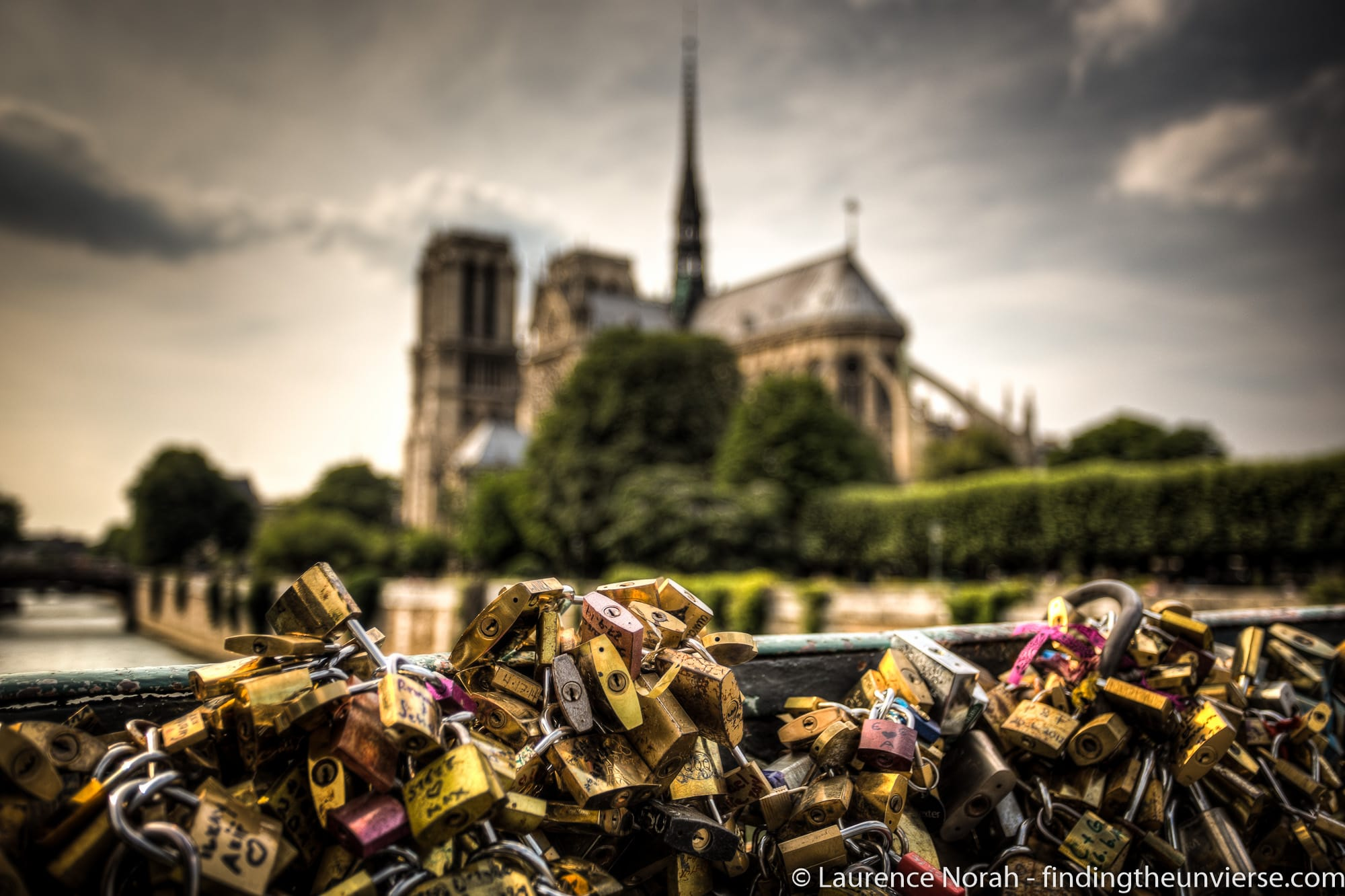Wide Angle Photography - Notre Dame Paris