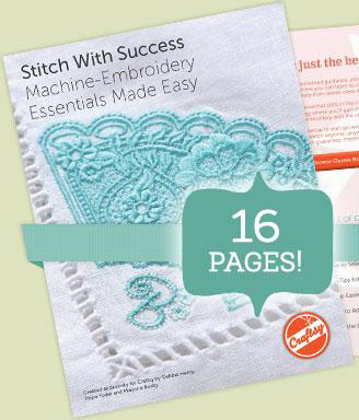 stitch with success