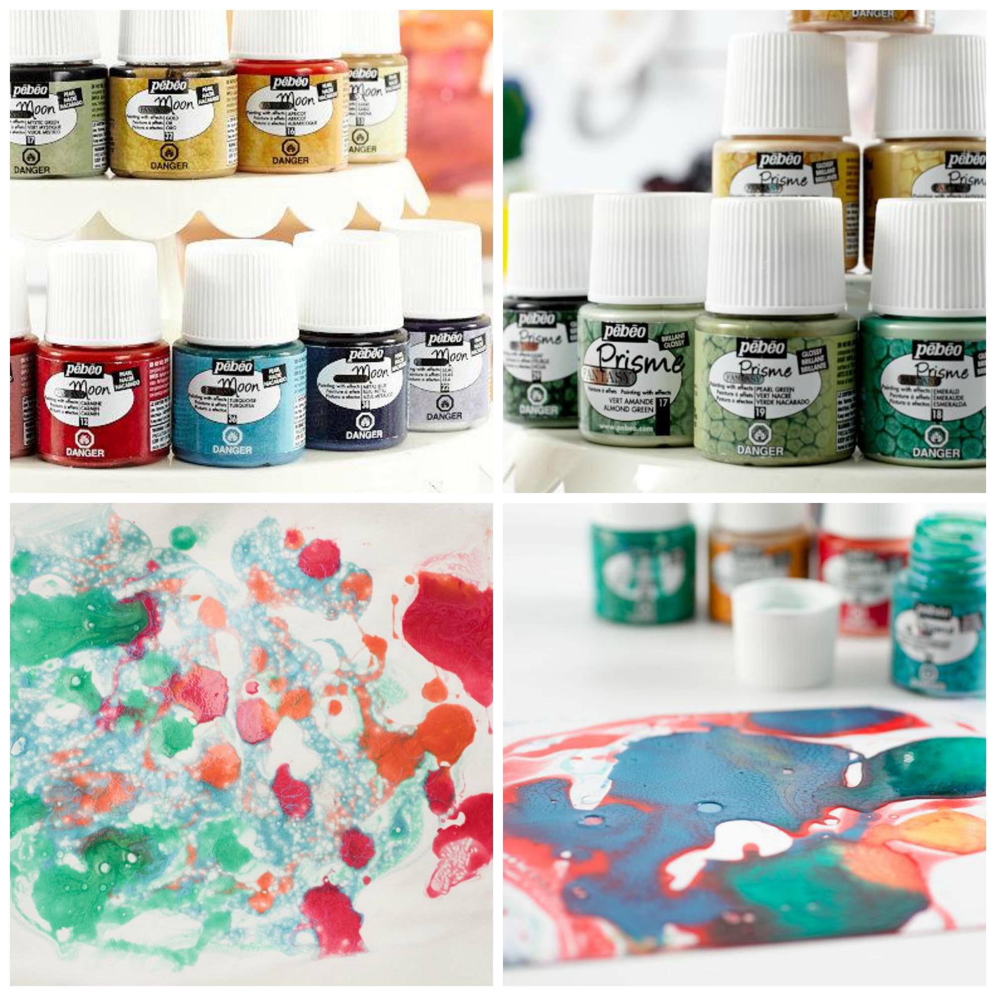 Pebeo Paints Collage