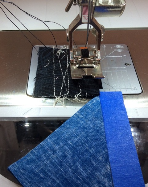 Sewing a Piece Leader Fabric for Easy Stitching