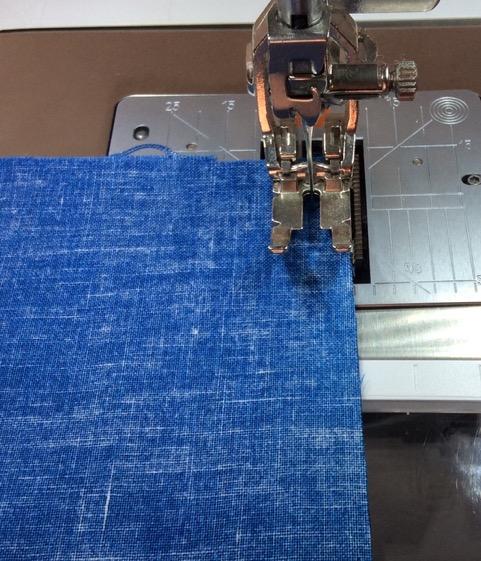 """Sewing a 1/4"""" seam allowance"""