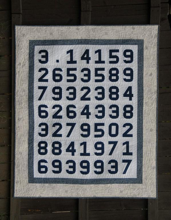 Pi quilt pattern