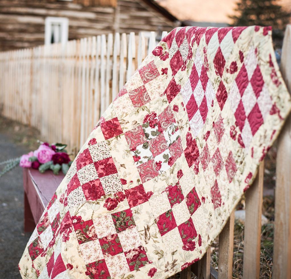 Rose Quilt Kit