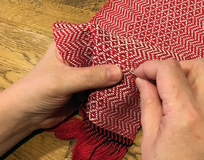 fix weaving error step five