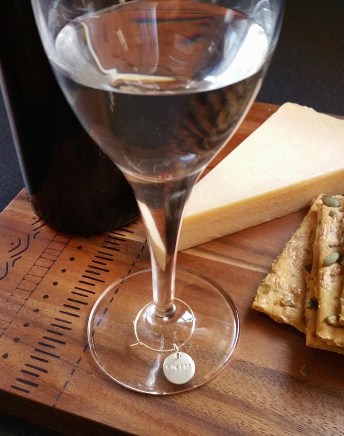 cheers wine charms