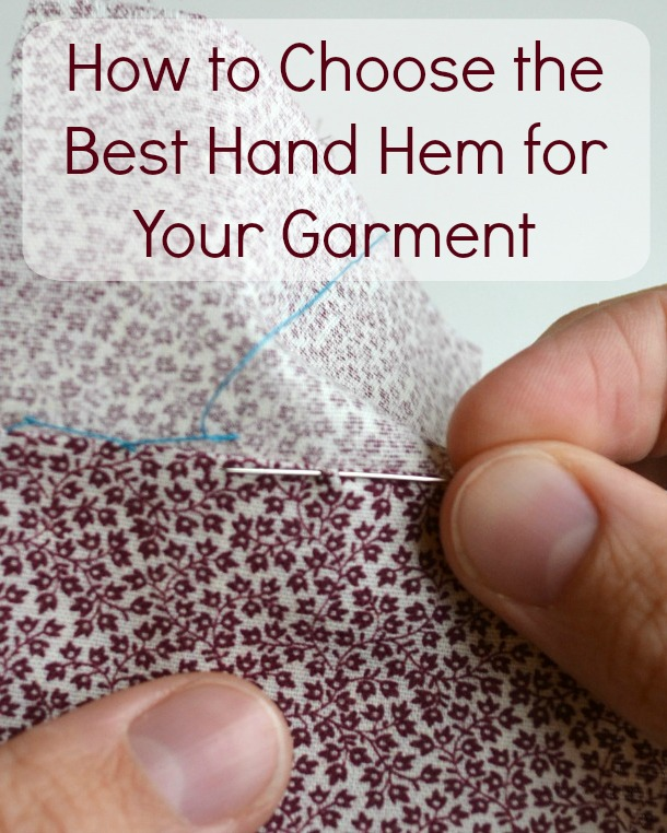 How to hem by hand