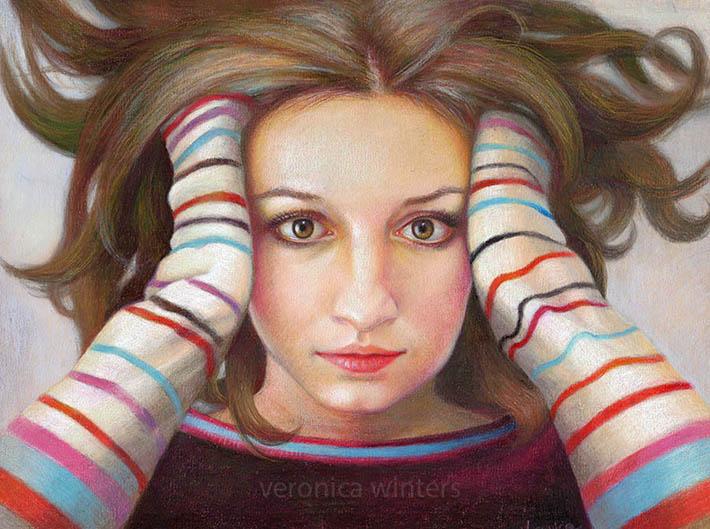 colorful dreams veronica winters colored pencil