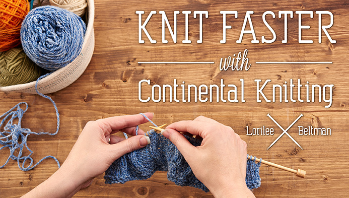 continental knitting title card