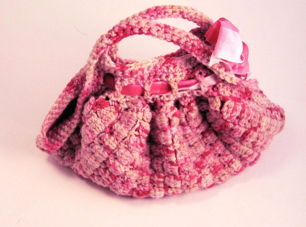 crochet bobble bag