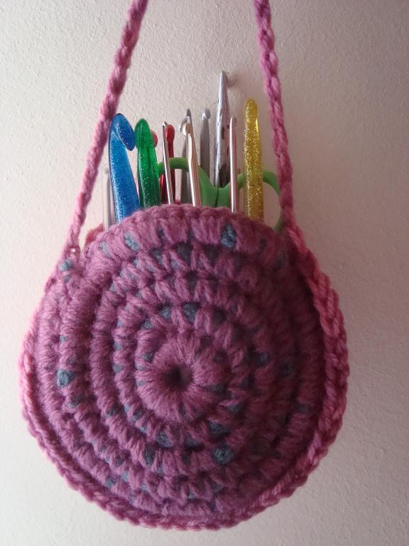 crochet hook pencil case