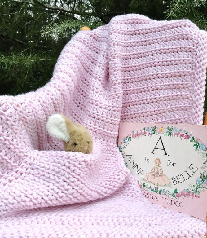 double strand crochet blanket
