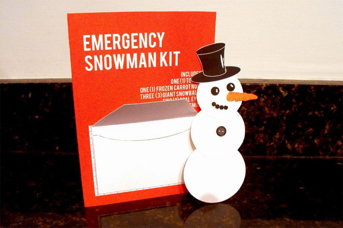 Emergency Snowman Kit