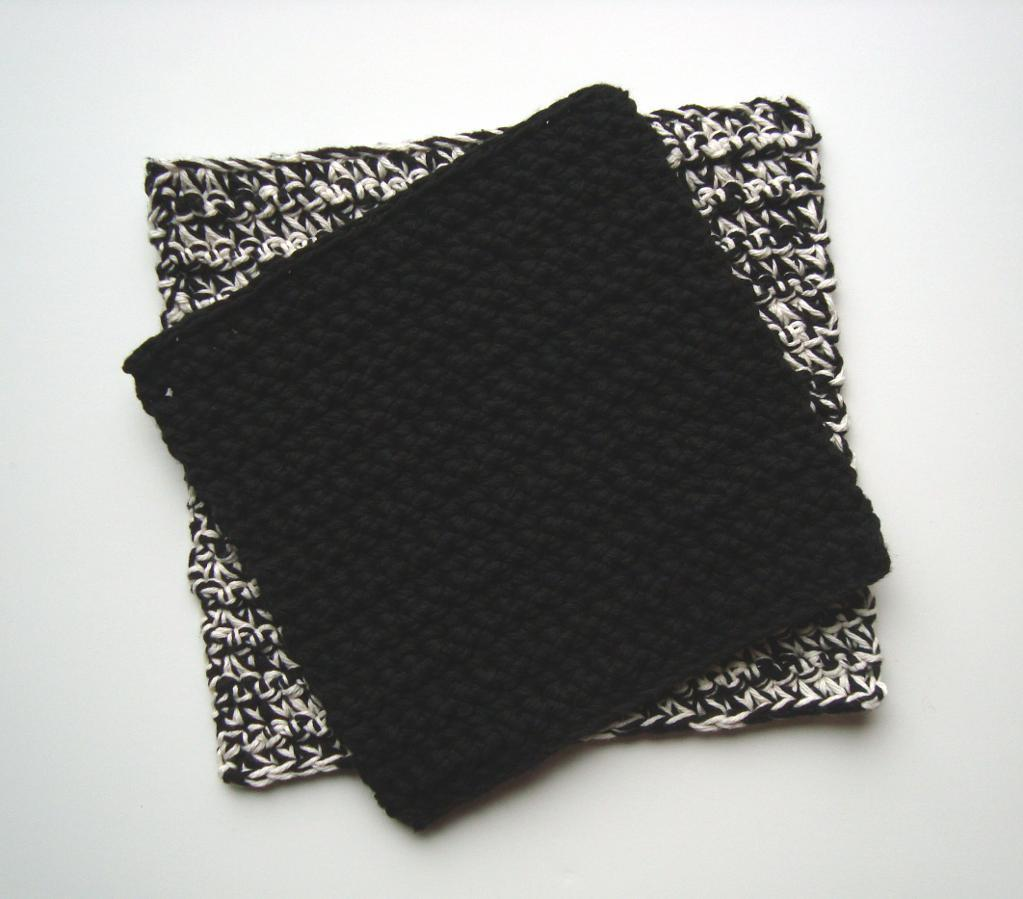 extended single crochet potholder