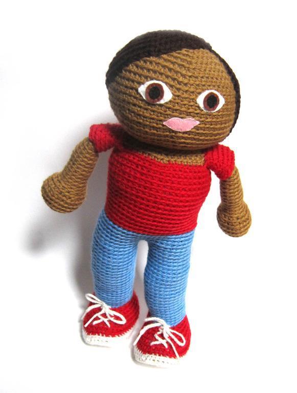 Ethan the Boy Doll Crochet Amigurumi