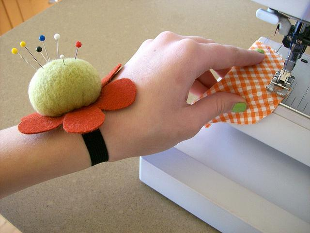 Wrist Pincushion Sewing Pattern