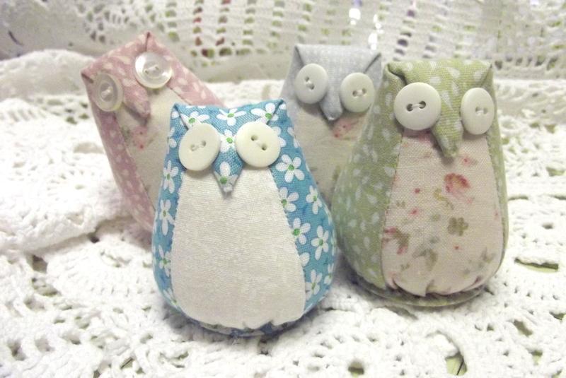 Little Owl Pincushion Template FREE