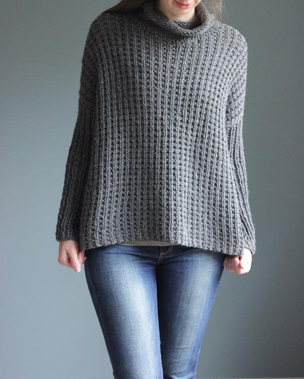 Bosco Sweater Knitting Pattern