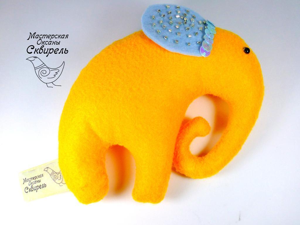 Yellow Elephant FREE Sewing Pattern