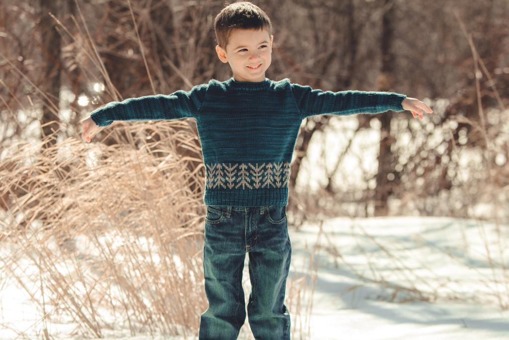 Lodgepole Pullover Sweater Knitting Pattern