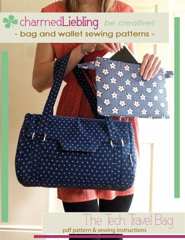 The Tech Travel Bag Sewing Pattern
