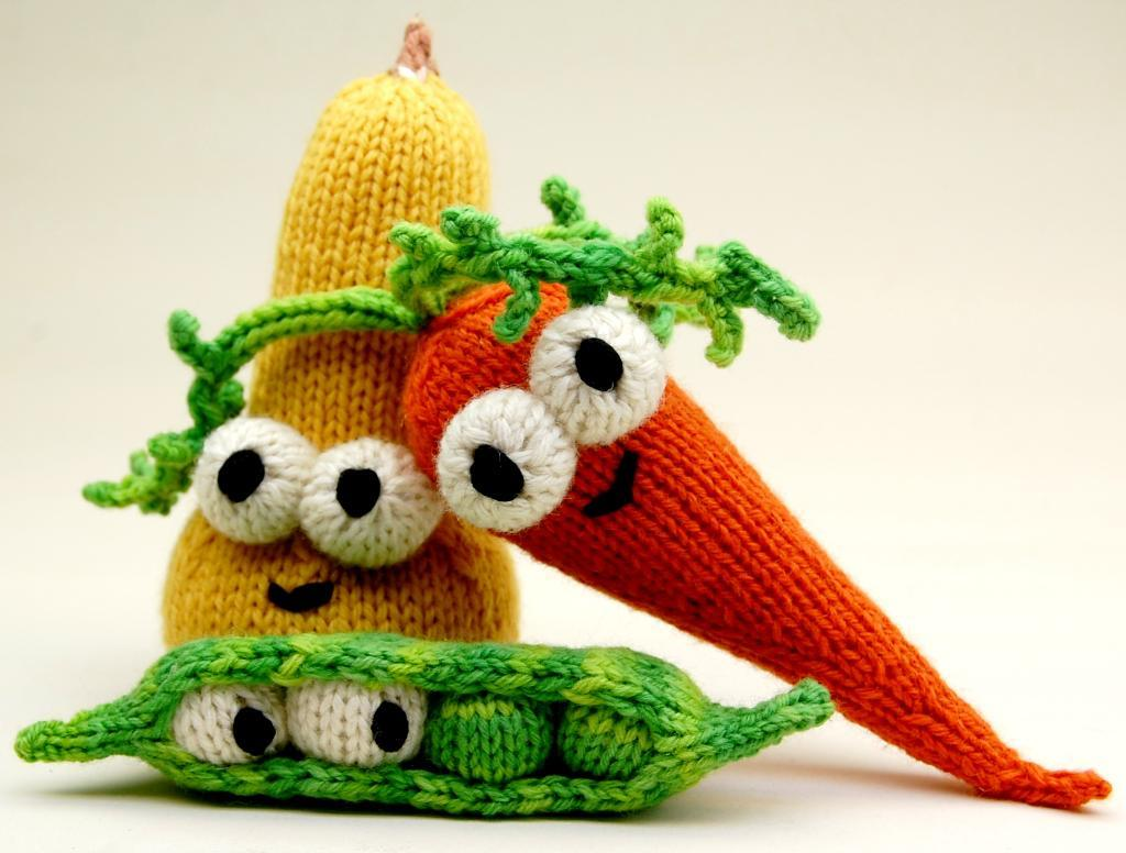 Amigurumi Vegetables Knitting Pattern