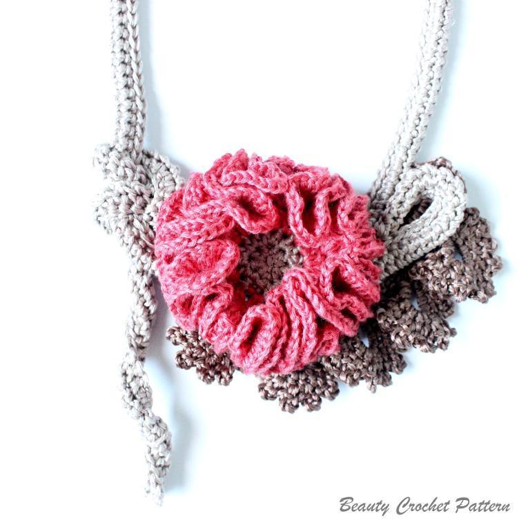 Crochet Necklace Pattern