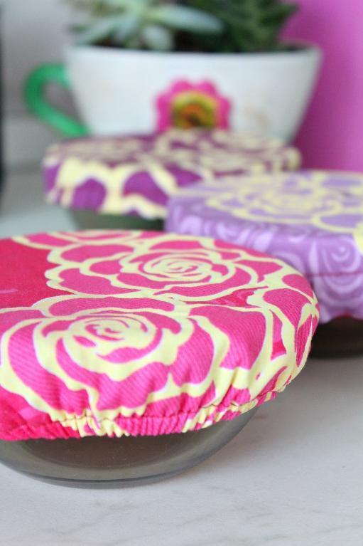 Reusable Fabric Bowl Tutorial FREE Sewing Pattern