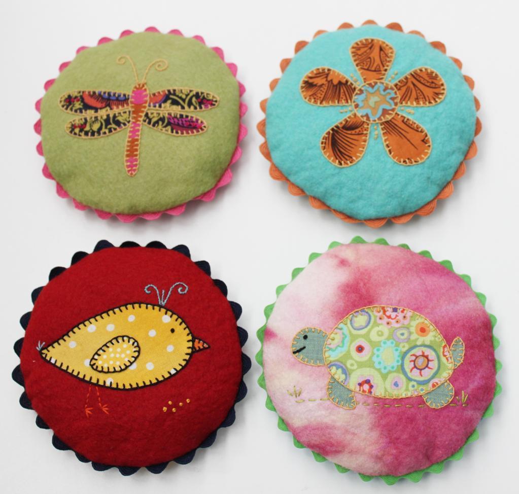 Pretty Pincushions Sewing Pattern