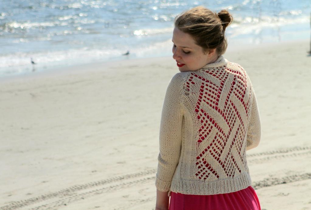 Rockaway Cardigan Knitting Pattern