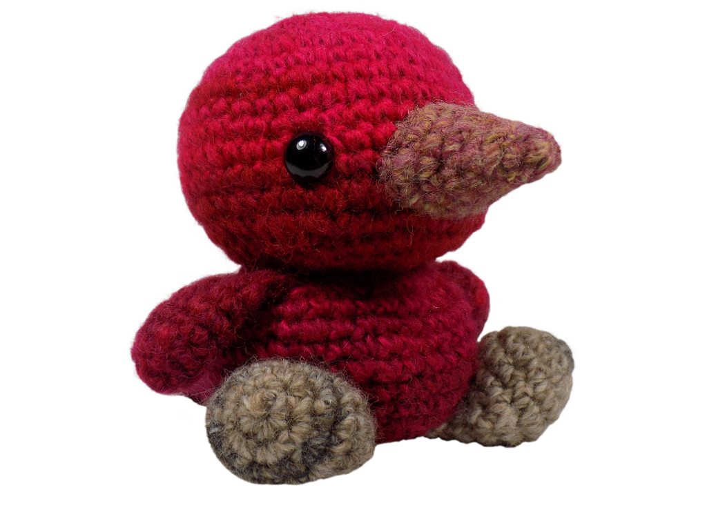 Easy Amigurumi Bird Crochet Pattern