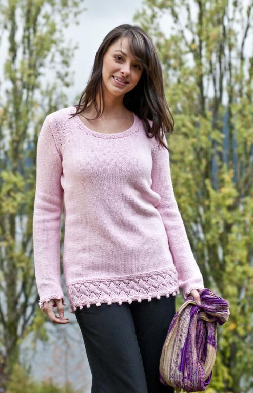 FREE Springtime Tunic Knitting Pattern
