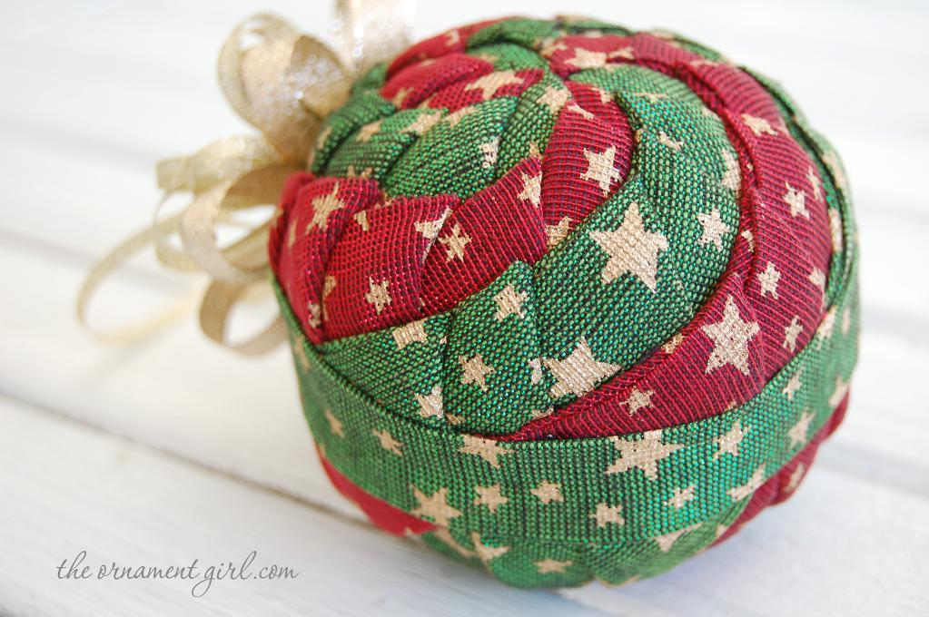 Quilted Pinwheel Ornament Pattern