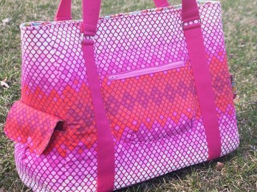 Sloan Travel Bag Sewing Pattern