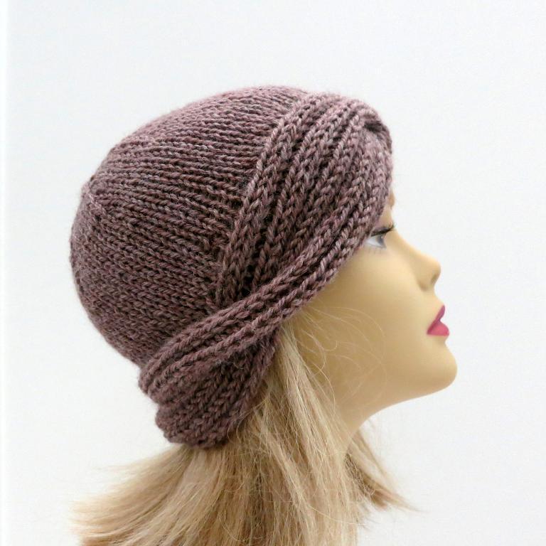 Downton Nora Vintage Cloche Hat Pattern