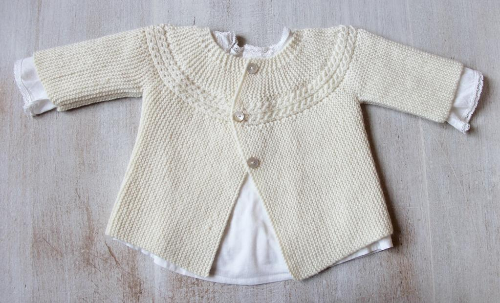 Baby Jacket Knitting Pattern