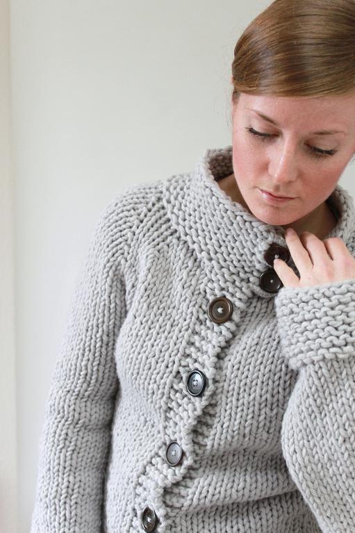 Twiggy Cardigan Knitting Pattern