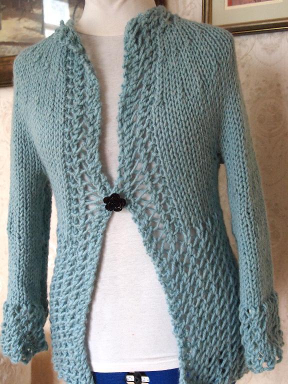Anne Cardigan Knitting Pattern