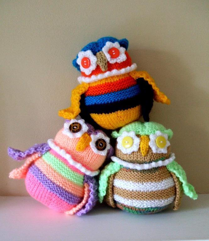 T'wit T'woo Amigurumi Owls Knitting Pattern