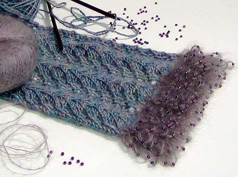 Sparkle Scarf Knitting Pattern