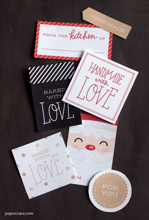 Handmade & Home Baked Gift Tags