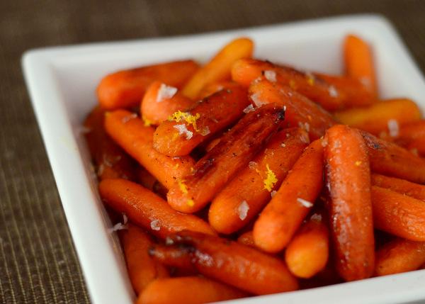 Orange and Honey Roasted Carrots