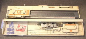punchcard knitting machine
