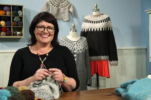 Knitwear designer Ragga Eiríksdóttir