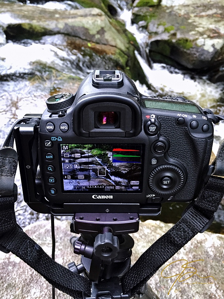 Using live view and the histogram to learn manual mode
