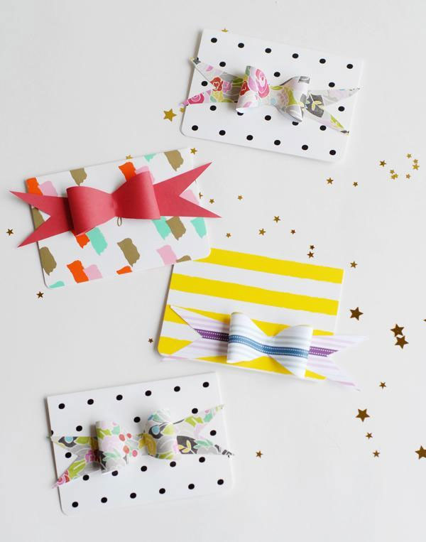 Free Paper Bow Template