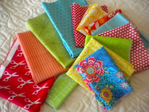 patterned quilting fabrics